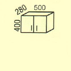 G-1 - Польша - PL - Типовые верхние шкафчики - Кухни модульные