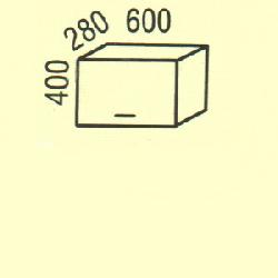 G-2(2) - Польша - PL - Типовые верхние шкафчики - Кухни модульные