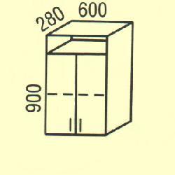 G-22 - Польша - PL - Типовые верхние шкафчики - Кухни модульные