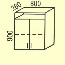 G-24 - Польша - PL - Типовые верхние шкафчики - Кухни модульные