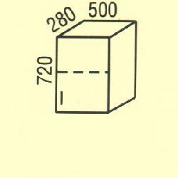 G-28 - Польша - PL - Типовые верхние шкафчики - Кухни модульные