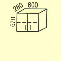 G-3(2) - Польша - PL - Типовые верхние шкафчики - Кухни модульные