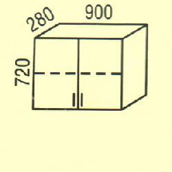 G-30 - Польша - PL - Типовые верхние шкафчики - Кухни модульные