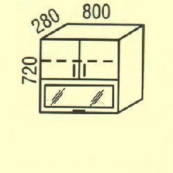 G-32 - Польша - PL - Типовые верхние шкафчики - Кухни модульные