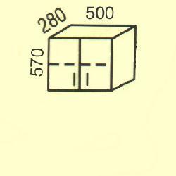 G-3 - Польша - PL - Типовые верхние шкафчики - Кухни модульные