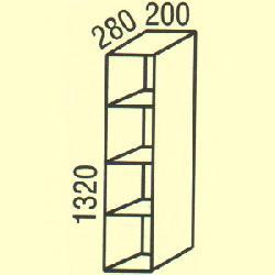 G-42 - Польша - PL - Типовые верхние шкафчики - Кухни модульные