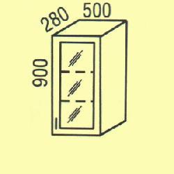 G-43 - Польша - PL - Типовые верхние шкафчики - Кухни модульные