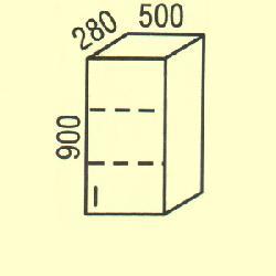 G-44 - Польша - PL - Типовые верхние шкафчики - Кухни модульные