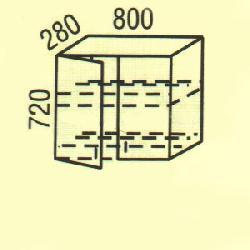 G-4 - Польша - PL - Типовые верхние шкафчики - Кухни модульные