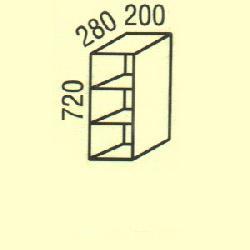G-6 - Польша - PL - Типовые верхние шкафчики - Кухни модульные