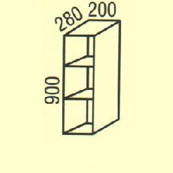 G-8 - Польша - PL - Типовые верхние шкафчики - Кухни модульные