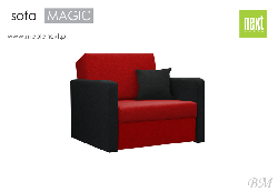 Folding chair of SOFA Magic - Poland - Next meble - Chairs folding - Upholstered furniture