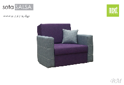 Folding chair of SOFA SALSA - Poland - Next meble - Chairs folding - Upholstered furniture