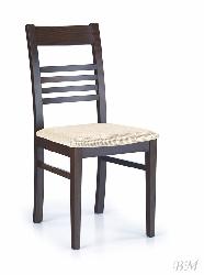 JULIUSZ wenge/torent beige стул - Деревянные стулья - Разные стулья