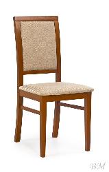 SYLWEK 1 ant. cherry/casilda beige стул - Деревянные стулья - Разные стулья