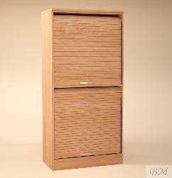 Стеллаж 502 - Шкафчики, шкафы - Офисная мебель