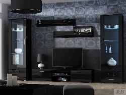 Мебель для гостинной Soho 4 - Гостиные Модерн - Секции, Витрины, Полки