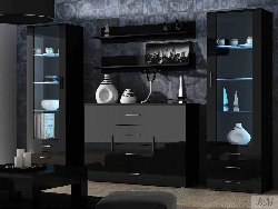 Мебель для гостинной Soho 3 - Гостиные Модерн - Секции, Витрины, Полки