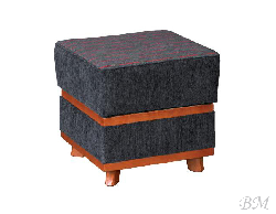 D1 padded stool - Puffs - Upholstered furniture