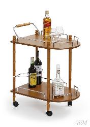 BAR-4 servēšanas galdiņš uz riteņiem - Polija - Halmar - Servēšanas galdi - Galdi un komplekti
