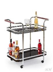 BAR-7 servēšanas galdiņš uz riteņiem - Polija - Halmar - Servēšanas galdi - Galdi un komplekti