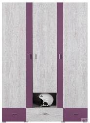 Детская комната беленый дуб Шкафы в детскую комнату Next NX1 шкаф