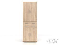 Стеллаж BRW-OFFICE REG4D2S/220 - Польша - Black Red White ( BRW ) - Стеллажи, полки - Офисная мебель