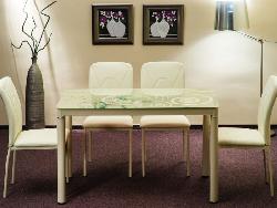 Damar - Стеклянные столы - Столы и комплекты