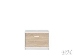 NEPO-SFK1K шкафчик для обуви - Шкафчики для обуви - Прихожие и Гардеробы