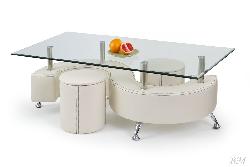 Kafijas galdiņš NINA 3H - Polija - Halmar - Galdi ar pufiem - Galdi un komplekti