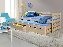Детская деревянная кровать MARCIN выдвижная - Кровати двухъярусные - Детская комната