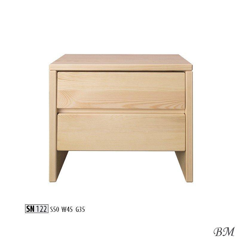 Купить Мебель - SN122 - шкафчик - Польша - Drewmax - ночной - Прикроватные тумбочки - Обувной шкафчик