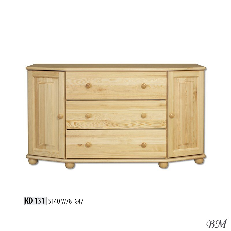 Kd130 chest of drawers dressers poland drewmax for Furniture made in poland