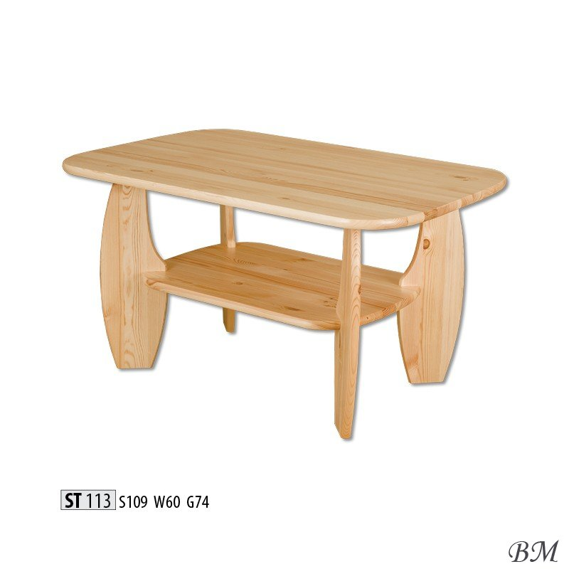 St113 wooden table journal tables poland drewmax for Furniture made in poland