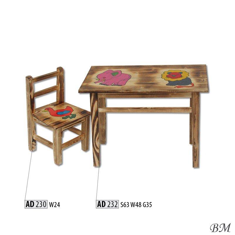 Купить Мебель - Детские столики - детский - Drewmax - AD232 - Польша - стол - Детский стол трансформер джой