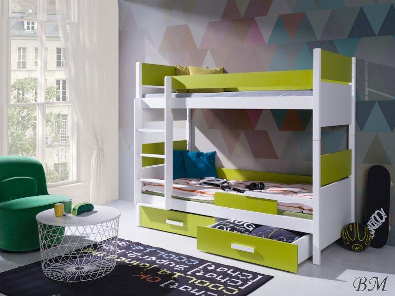Купить Мебель - Польша - MEBLObed - двухъярусная - Кровати двухъярусные - кровать - Lazaro - Кровать двухъярусная 70 180