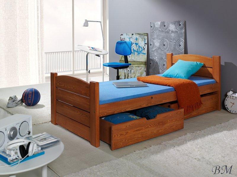Купить Мебель - одноместная - Польша - кровать - Кровати для детей одноместные - ящиками - с - Roma - MEBLObed - классическая - 2 - Одноместная кровать с матрасом для школьника москва