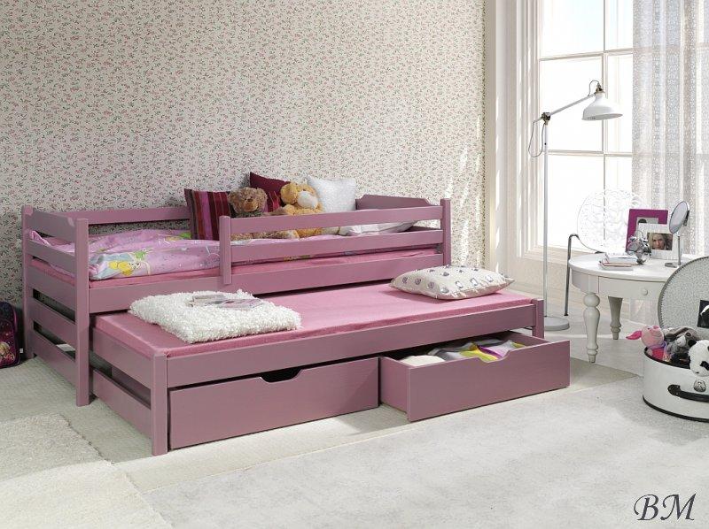 Купить Мебель - MEBLObed - Польша - деревянная - выдвижная - II - Кровати двухъярусные - Детская - MARCIN - кровать - Кровать детская выдвижная
