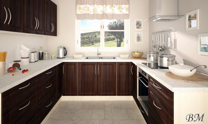Купить Мебель - классическая - Польша - модульная - Модульные кухни, индивидуальные - Extom - кухня - GOLD - LUX - III - Galaxi gold