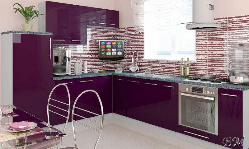 Купить Мебель - модерн - Модульные кухни, индивидуальные - Extom - 4 - Польша - PLATINIUM - кухня - модульная - Гостинные модерн