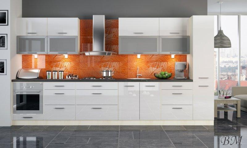 Купить Мебель - Модульные кухни, индивидуальные - модерн - Польша - PLATINIUM - кухня - Extom - 6 - модульная - Гостиная модерн