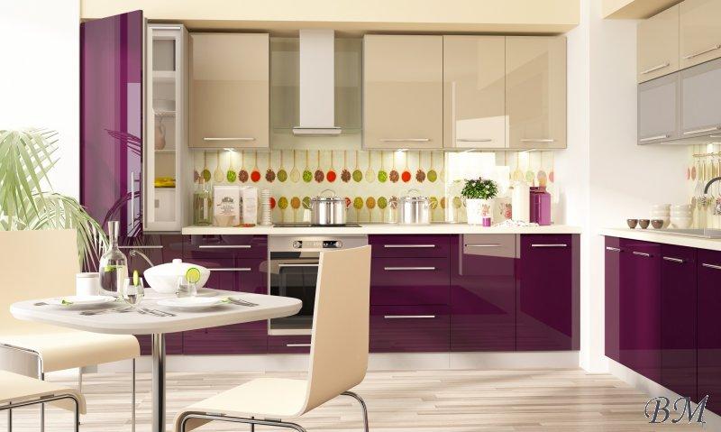 Купить Мебель - Польша - Extom - модульная - модерн - кухня - Модульные кухни, индивидуальные - PLATINIUM - 8 - Модульная кухня в латвии