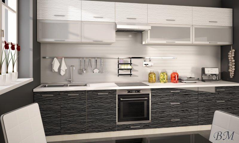 Купить Мебель - кухня - Польша - 9 - Модульные кухни, индивидуальные - модерн - PLATINIUM - модульная - Extom - Комод дуб модерн