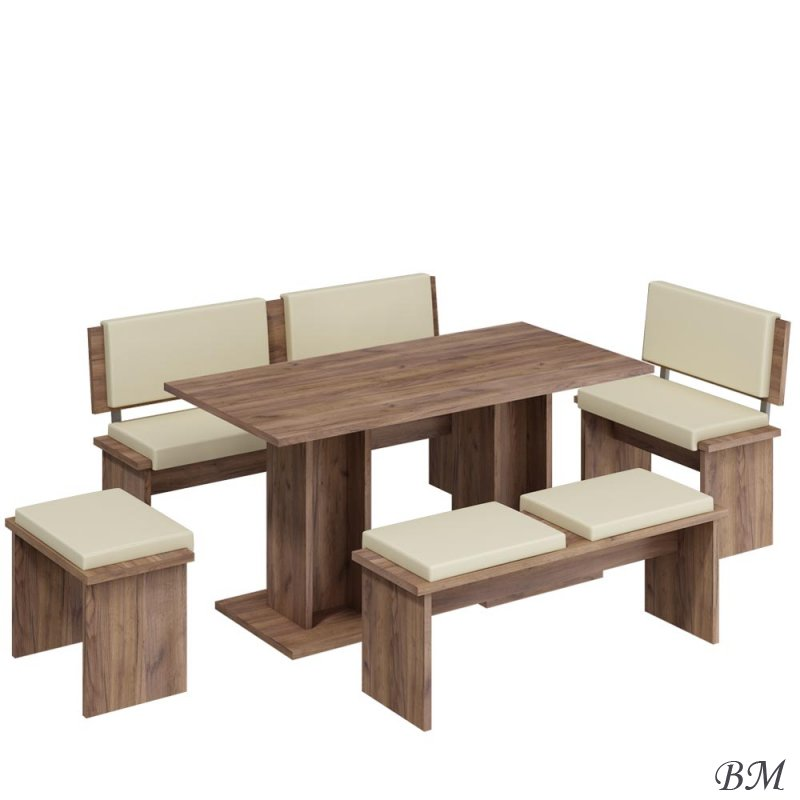 Купить Мебель - Польша - MEBLOCROSS - комплект - Кухонные уголки - BOND - большой - Модульный комплект