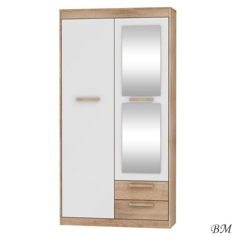 Купить Мебель - одежды - Польша - коридор - Шкафы для прихожей и гардеробы - в - MEBLOCROSS - 2D2S - шкаф - для - гардероб - Maximus - Mxs-04 - Гардероб шкаф мягкий