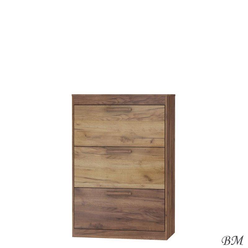 Купить Мебель - Шкафчики для обуви - Maximus - MEBLOCROSS - Mxs-39 - 3D - Польша - обувной - шкаф - Шкаф обувной