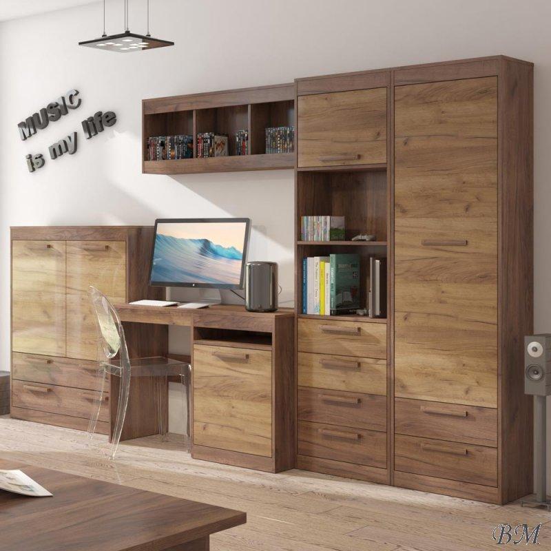 Купить Мебель - Секции молодежные, подростковые - Польша - комплект - мебели - MEBLOCROSS - 7 - MAXIMUS - Комплект koral