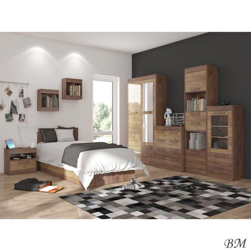 Pirkt Mēbeles - komplekts - mēbeļu - Guļamistabas komplekti, Guļamistabas iekārtas - MEBLOCROSS - Polija - 8 - MAXIMUS - Mēbeļu komplekts beržua