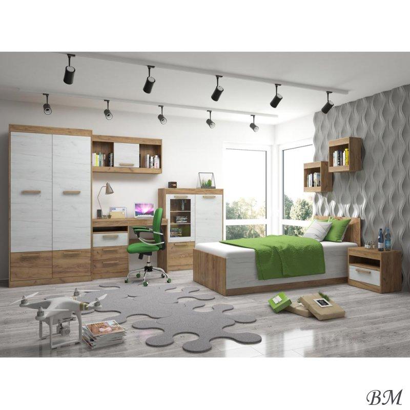 Купить Мебель - Польша - мебели - 9 - MEBLOCROSS - MAXIMUS - Подростковые, молодежные комплекты - комплект - Комплект кухни