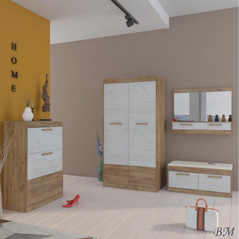 Купить Мебель - мебели - 15 - Польша - MEBLOCROSS - комплект - Прихожии, мебель в коридор - MAXIMUS - Комплект starter
